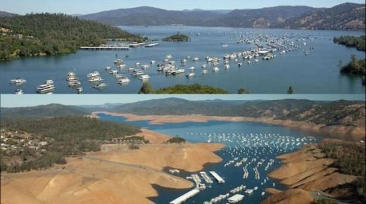 California se está secando a causa de la mayor sequía vivida en su historia