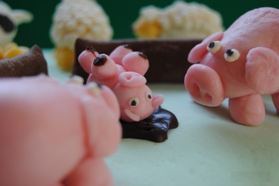 cerdo granja