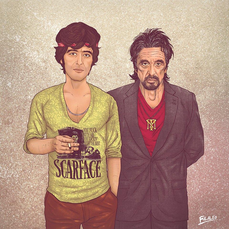 Al Pacino art fulaleo
