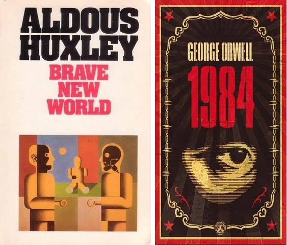 libros-huxley-orwell